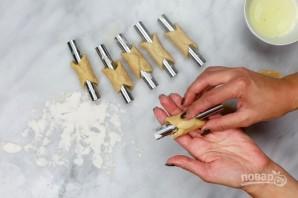 Трубочки с шоколадом и рикоттой - фото шаг 5