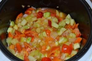 Салат из помидоров и кабачков на зиму - фото шаг 8