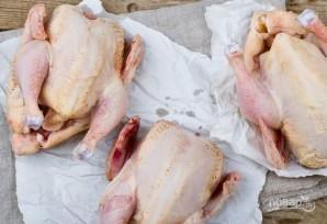 Курица с картошкой в духовке - фото шаг 2