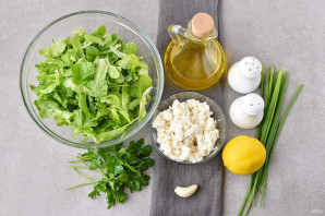 Салат из творога - фото шаг 1