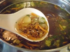 Постный суп из чечевицы - фото шаг 6