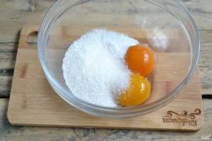 Яблочный пирог из песочного теста - фото шаг 2