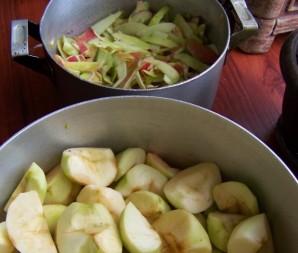 Варенье из яблок быстрое и живое - фото шаг 2