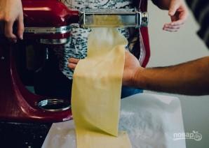 Самодельная паста с соусом из шалфея - фото шаг 10