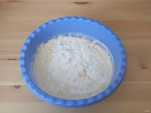 Творожная запеканка с инжиром - фото шаг 3