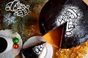 Бисквитный торт с творожным кремом - фото шаг 16