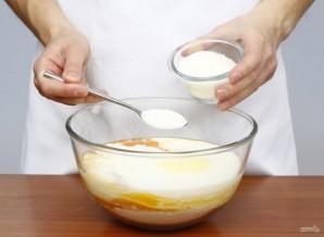 Блины (классический рецепт на кефире) - фото шаг 5