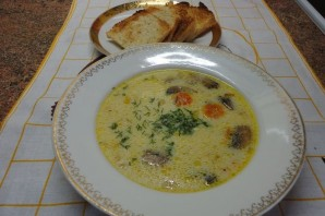 Суп грибной белый - фото шаг 4