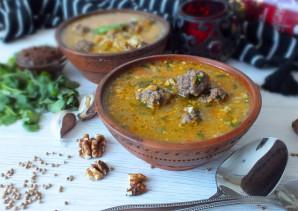 Суп харчо с фрикадельками - фото шаг 13