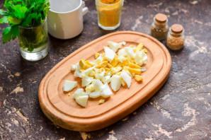 Салат из мидий - фото шаг 2