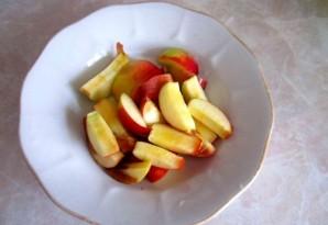Яблочная шарлотка на скорую руку - фото шаг 1