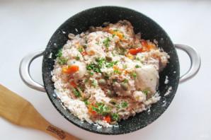 Курица с рисом по-испански - фото шаг 10