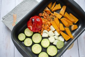 Суп-пюре из запеченных овощей - фото шаг 3