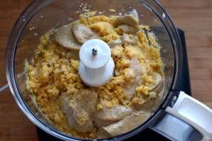 Ливанский хумус с пряными куриными сердечками - фото шаг 3