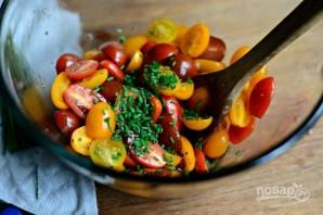 Тосты с маринованными помидорами - фото шаг 3