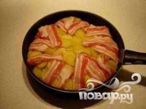 Картофель в беконе - фото шаг 4