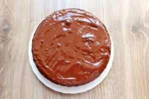 Шоколадный торт на молоке - фото шаг 10