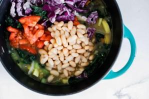 Суп из фасоли без мяса - фото шаг 3