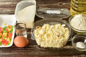 Сырники с цукатами - фото шаг 1