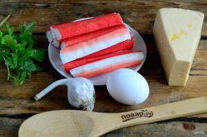 Котлеты из крабовых палочек с сыром - фото шаг 1