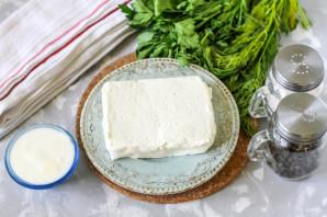 Творожный сыр с зеленью - фото шаг 1