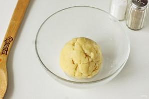 Песочный пирог с капустой - фото шаг 4