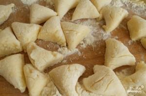 Ленивые картофельные вареники с грибами - фото шаг 4