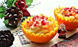 Новогодний фруктовый салат - фото шаг 6