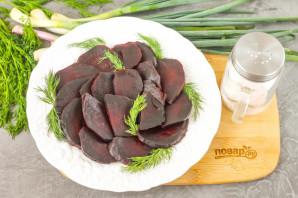 Салат из свеклы с имбирем - фото шаг 5