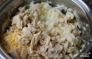 Куриная грудка с брокколи в духовке - фото шаг 4