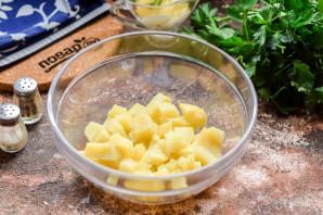 Салат из рыбы копченой - фото шаг 2