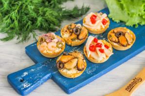 Тарталетки с морепродуктами на Новый год - фото шаг 4