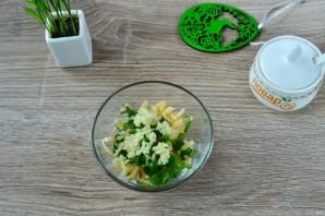 Куриные кармашки со шпинатом и чесноком - фото шаг 3