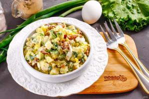 Салат с копченой курицей и авокадо - фото шаг 5