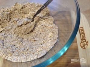Печенье из цельнозерновой муки с инжиром и шоколадом - фото шаг 3