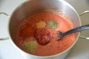 Кетчуп из слив - фото шаг 4