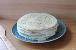 Сметанный торт без яиц