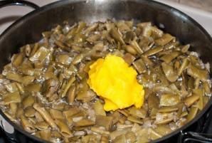 Лобио из стручковой фасоли с яйцом - фото шаг 5