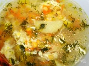 Суп с кукурузой - фото шаг 6