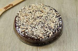 Постный шоколадный торт - фото шаг 12