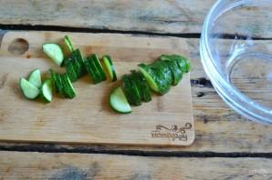 Греческий салат классический - фото шаг 2