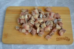 Рыбный салат с кукурузой - фото шаг 6