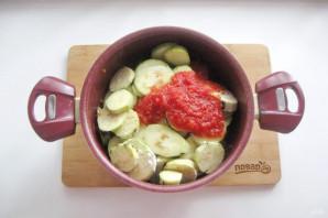 Соте из баклажанов и картофеля - фото шаг 7