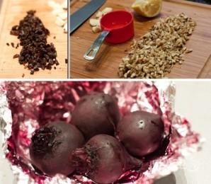 Салат с черносливом и грецким орехом - фото шаг 4