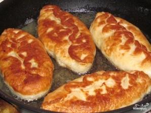 Ленивые пирожки с луком и яйцом - фото шаг 7
