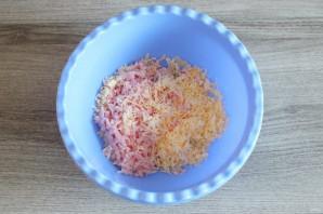 Чебуреки из кабачков с ветчиной и сыром - фото шаг 6