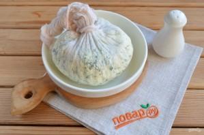 Домашний сыр из молока и сметаны - фото шаг 10