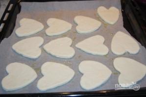 Мини-пиццы в форме сердца на 14 февраля - фото шаг 6