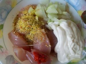 Курица с баклажанами и картошкой - фото шаг 5