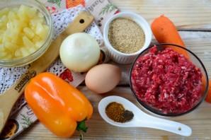 Фрикадельки в кисло-сладком соусе - фото шаг 1